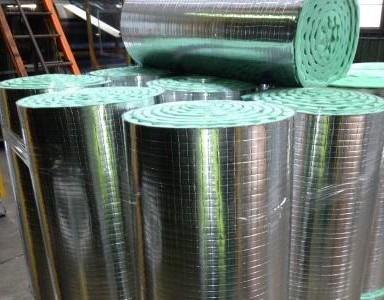 Acoustic pipe insulation products