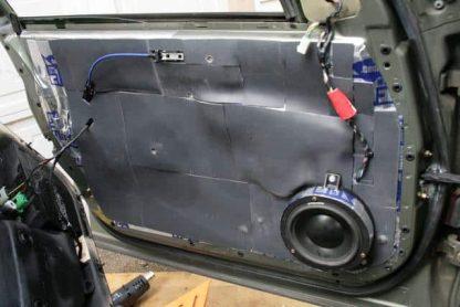 Sound-deadening-mat-instaled-car-door